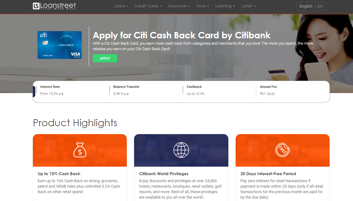 Use comparison sites to find the most suitable credit card for you 3 - Multiply -
