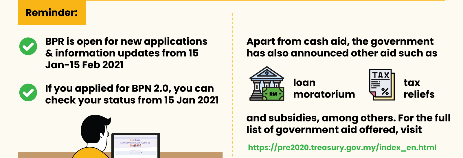 What Government Cash Assistance Can You Get in 2021? 9 - Multiply - Planning & Budgeting